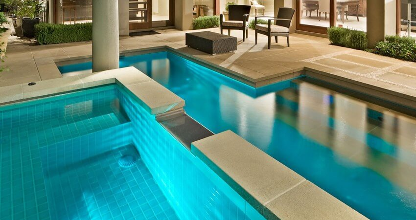 Natural Pools Creating beautiful spas and pool and spa combinations