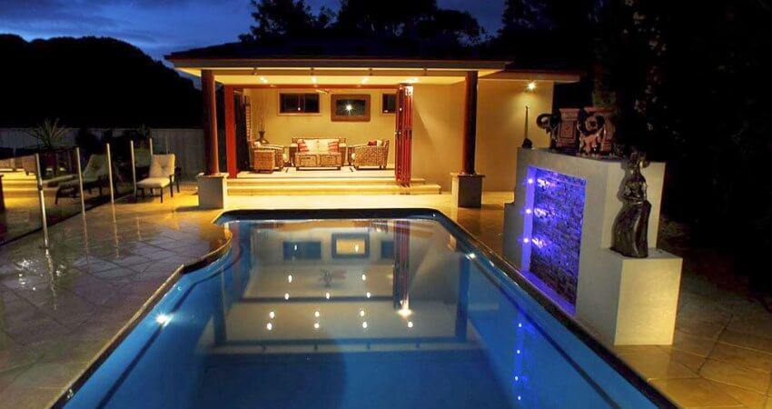 Natural Pools Fibreglass Swimming Pools of Different Shapes and Sizes