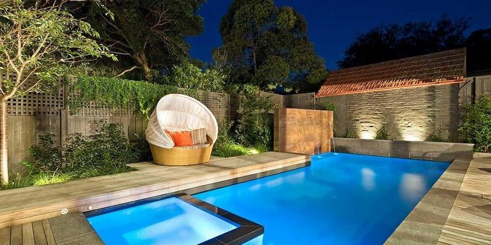 Backyard Pool Design L Shaped Pool To Utilise The Space Natural Pools