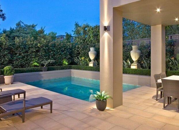 Natural Pools Building concrete plunge pools
