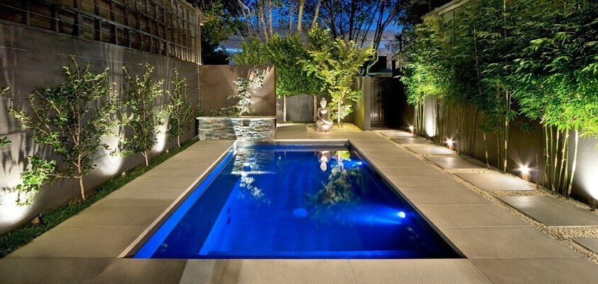 Led pool lights for safe and attractive yard